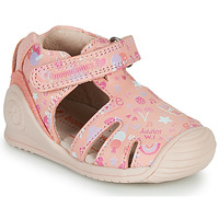 Cipők Lány Szandálok / Saruk Biomecanics 212107 Rózsaszín