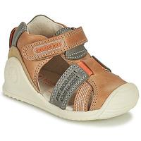 Cipők Fiú Szandálok / Saruk Biomecanics 212135 Konyak