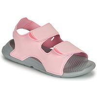 Cipők Lány Szandálok / Saruk adidas Performance SWIM SANDAL C Rózsaszín