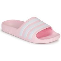 Cipők Lány Szandálok / Saruk adidas Performance ADILETTE AQUA K Rózsaszín