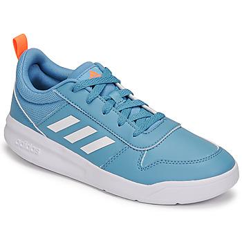 Cipők Gyerek Rövid szárú edzőcipők adidas Performance TENSAUR K Kék