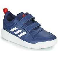 Cipők Gyerek Rövid szárú edzőcipők adidas Performance TENSAUR C Kék / Sötét
