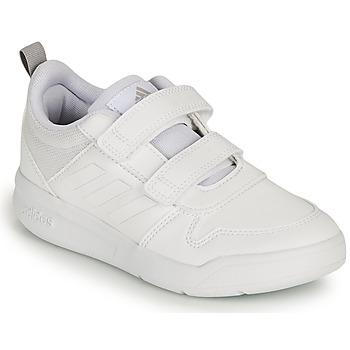 Cipők Gyerek Rövid szárú edzőcipők adidas Performance TENSAUR C Fehér