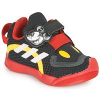Cipők Gyerek Rövid szárú edzőcipők adidas Performance ACTIVEPLAY MICKEY I Fekete  / Piros
