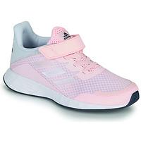 Cipők Lány Rövid szárú edzőcipők adidas Performance DURAMO SL C Rózsaszín