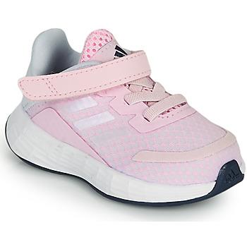 Cipők Lány Rövid szárú edzőcipők adidas Performance DURAMO SL I Rózsaszín