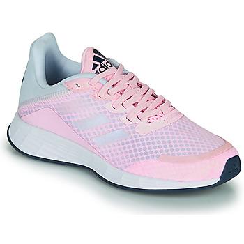 Cipők Lány Rövid szárú edzőcipők adidas Performance DURAMO SL K Rózsaszín