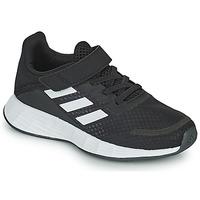Cipők Gyerek Rövid szárú edzőcipők adidas Performance DURAMO SL C Fekete  / Fehér