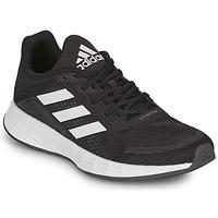 Cipők Gyerek Rövid szárú edzőcipők adidas Performance DURAMO SL K Fekete  / Fehér