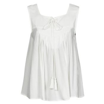 Ruhák Női Trikók / Ujjatlan pólók See U Soon 21111205B Fehér
