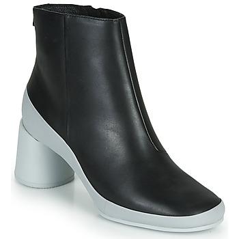Cipők Női Bokacsizmák Camper UPRIGHT Fekete  / Fehér