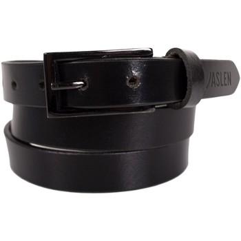 Textil kiegészítők Övek Jaslen Unisex Leather Fekete