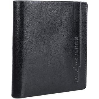 Táskák Férfi Pénztárcák Lois EAGLE függőleges bőr férfi pénztárca 202606 Fekete