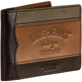 Táskák Férfi Pénztárcák Lois Férfi bőr pénztárca Sötét szemöldök