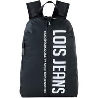 Táskák Hátitáskák Lois DELTA Unisex hátizsák Fekete