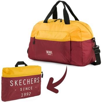 Táskák Utazó táskák Skechers MOVE integrált zseb összecsukható gym táska Régi arany