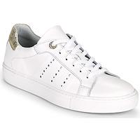 Cipők Női Rövid szárú edzőcipők Myma PEGGUI Fehér / Arany