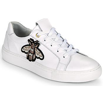 Cipők Női Rövid szárú edzőcipők Myma PIGGA Fehér