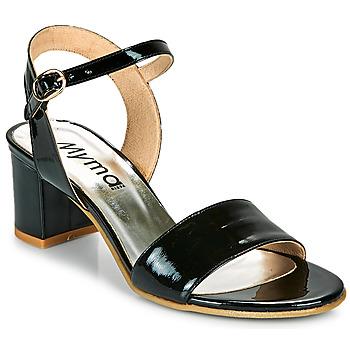Cipők Női Szandálok / Saruk Myma POLIDAME Fekete