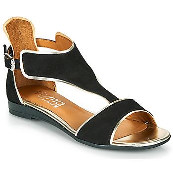 Cipők Női Szandálok / Saruk Myma POLIBO Fekete