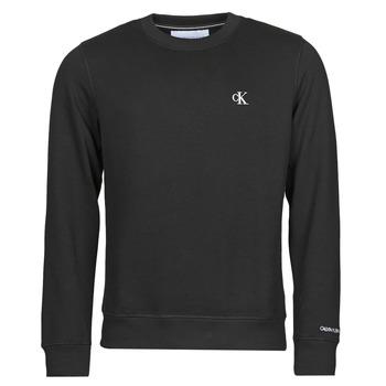 Ruhák Férfi Pulóverek Calvin Klein Jeans J30J314536-BAE Fekete