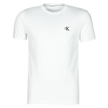 Ruhák Férfi Rövid ujjú pólók Calvin Klein Jeans YAF Fehér