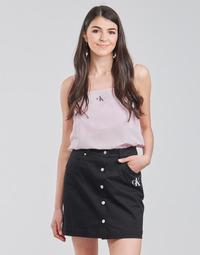 Ruhák Női Blúzok Calvin Klein Jeans MONOGRAM CAMI TOP Rózsaszín