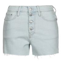 Ruhák Női Rövidnadrágok Calvin Klein Jeans HIGH RISE SHORT Kék / Tiszta
