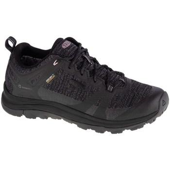 Cipők Női Túracipők Keen W Terradora II WP Fekete