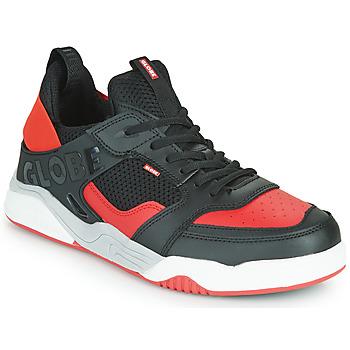 Cipők Férfi Rövid szárú edzőcipők Globe TILT EVO Fekete  / Piros