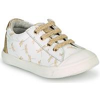 Cipők Lány Rövid szárú edzőcipők GBB MATIA Fehér