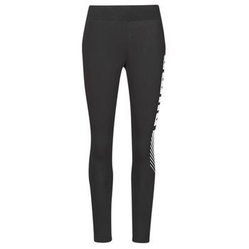 Ruhák Női Legging-ek Puma ESS+ GRAPHIC LEGGING Fekete