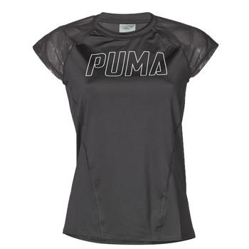 Ruhák Női Rövid ujjú pólók Puma WMN TRAINING TEE F Fekete