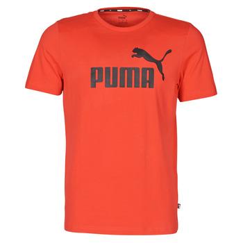 Ruhák Férfi Rövid ujjú pólók Puma ESSENTIAL TEE Piros