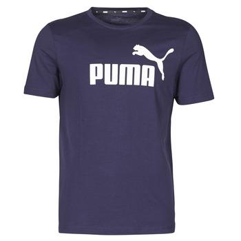 Ruhák Férfi Rövid ujjú pólók Puma ESSENTIAL TEE Tengerész