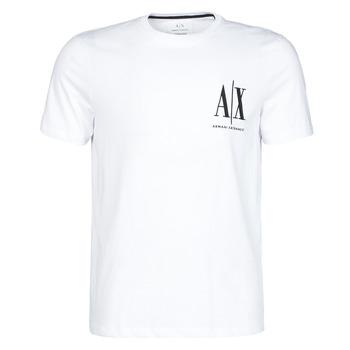 Ruhák Férfi Rövid ujjú pólók Armani Exchange 8NZTPH-ZJH4Z Fehér