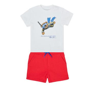 Ruhák Fiú Együttes Polo Ralph Lauren SOULA Sokszínű