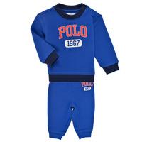 Ruhák Fiú Együttes Polo Ralph Lauren NOELLE Kék