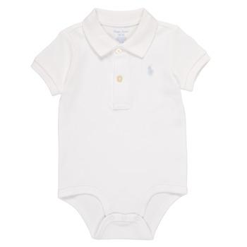 Ruhák Fiú Pizsamák / Hálóingek Polo Ralph Lauren NOUVEL Fehér
