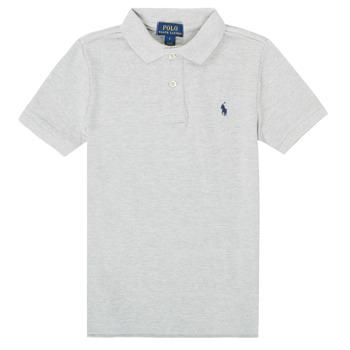 Ruhák Fiú Rövid ujjú galléros pólók Polo Ralph Lauren FRANCHI Szürke