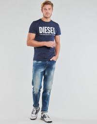 Ruhák Férfi Egyenes szárú farmerek Diesel D-FINNING Kék / Átlagos