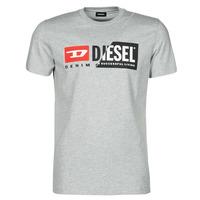 Ruhák Férfi Rövid ujjú pólók Diesel 00SDP1-0091A-912 Szürke