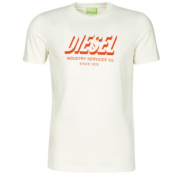 Ruhák Férfi Rövid ujjú pólók Diesel A01849-0GRAM-129 Fehér