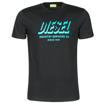 Ruhák Férfi Rövid ujjú pólók Diesel A01849-0GRAM-9XX Fekete