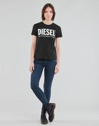 Ruhák Női Skinny farmerek Diesel SLANDY-LOW Kék / Átlagos