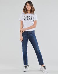 Ruhák Női Egyenes szárú farmerek Diesel D-JOY Kék / Átlagos