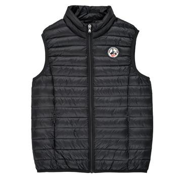 Ruhák Gyerek Steppelt kabátok JOTT ZOE Fekete