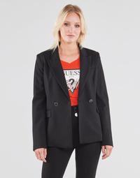 Ruhák Női Kabátok / Blézerek Guess MICAELA BLAZER Fekete
