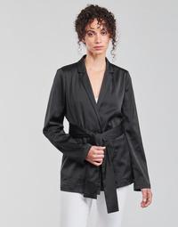 Ruhák Női Kabátok / Blézerek Guess DIMITRA BLAZER Fekete