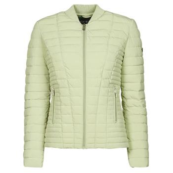 Ruhák Női Steppelt kabátok Guess VERA JACKET Zöld